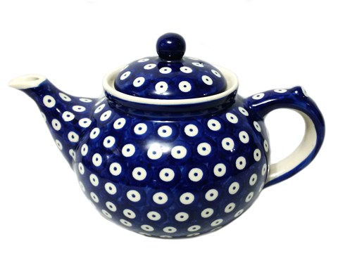 Afternoon teapot in Polka dot pattern