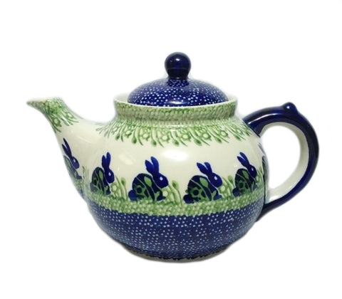 Afternoon teapot in Spring Bunny pattern