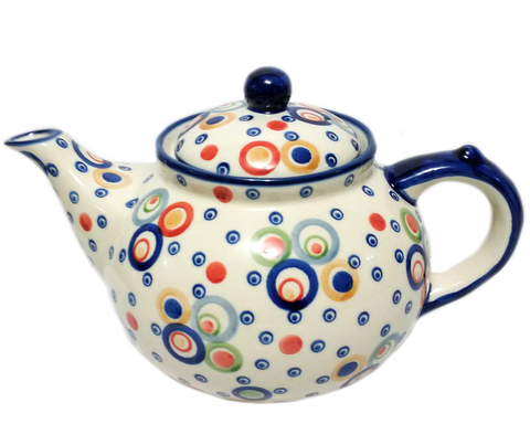 Afternoon teapot in Unikat Happy Bubble pattern
