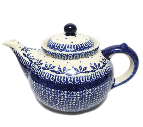 Afternoon teapot in Blue on White pattern