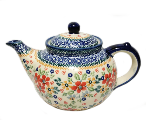 Afternoon teapot in Summer Garden pattern