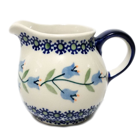 Creamer 0.2L in Trailing Lily pattern
