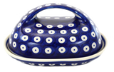 Butter Dish in Polka Dot pattern