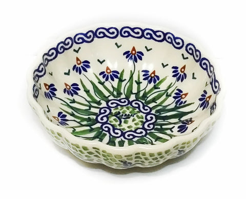 "4.75"" Candy Bowl in Dancing Garden pattern"