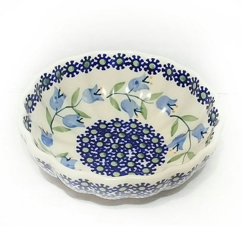 "4.75 "" Candy Bowl in a Trailing Lily pattern"