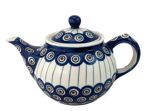 Morning teapot in Peacock pattern