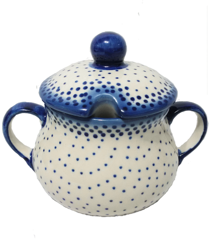 Sugar Bowl in Unikat Delicate Polka Dot pattern