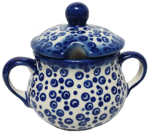 Sugar Bowl in Bubbles pattern