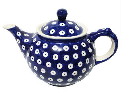 Morning teapot in Polka Dot pattern