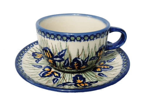 Teacup in Signed Iris pattern