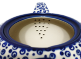 Teapot w/strainer 1.5L  in Bubbles pattern
