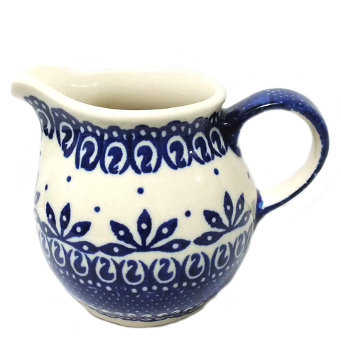 Creamer 0.2L in Blue and White pattern