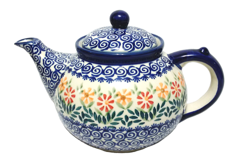 Afternoon teapot in Spring Morning pattern