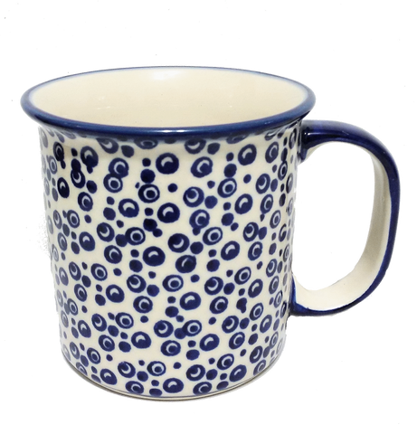 Large mug in Bubbles pattern