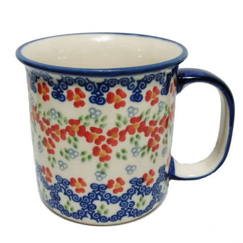 Large mug in Unikat Poppy Meadow pattern