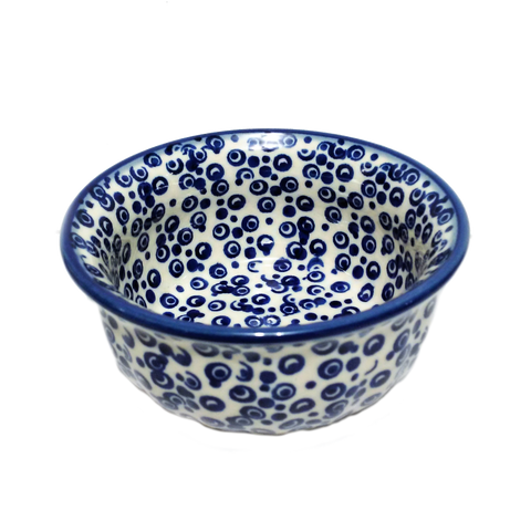 Snack Bowl in Bubbles pattern