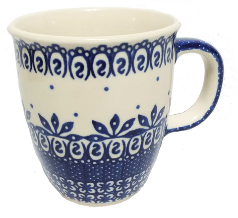 Bistro mug 0.3L Blue and White pattern