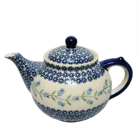 Afternoon teapot in Trailing Lily pattern