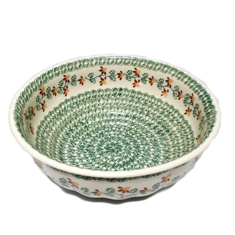"11.5"" Salad Bowl in Traditional pattern"