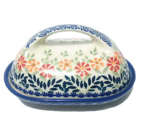 Butter dish in Spring Morning pattern