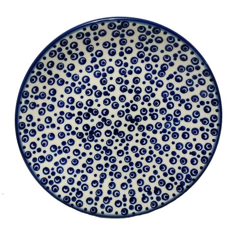 "Bread and Butter Plate 6.5"" in Bubbles pattern"