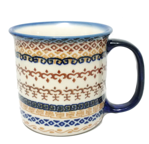 Large mug in a Signed pattern