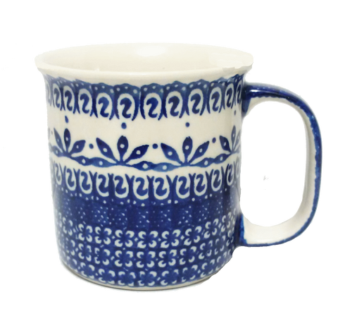 Large mug in Blue and White patern