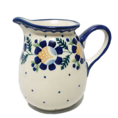 0.5 L Pitcher in Blue Daisy pattern