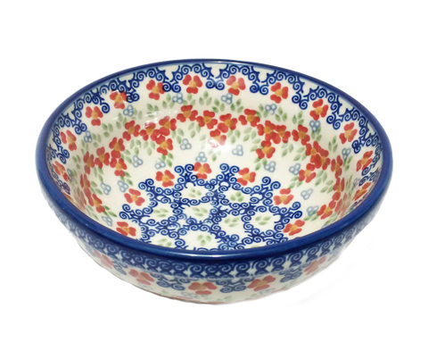 Cereal/Soup Bowl in Unikat Poppy Meadow pattern