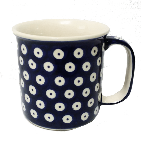 Large mug in Polka Dot pattern