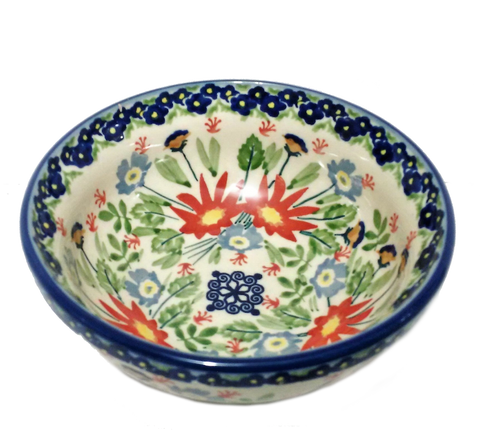 Cereal/Soup Bowl in Signed Wild Flower pattern