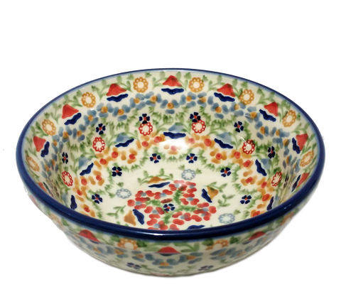 Cereal/Soup Bowl in Signed pattern
