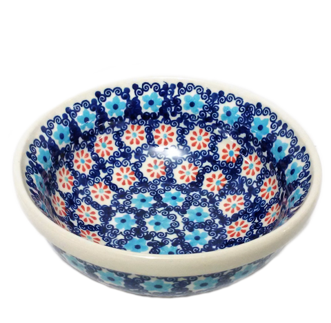 Cereal/Soup Bowl in Forget Me Not pattern