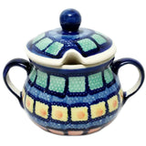 Sugar Bowl in Mosaic pattern