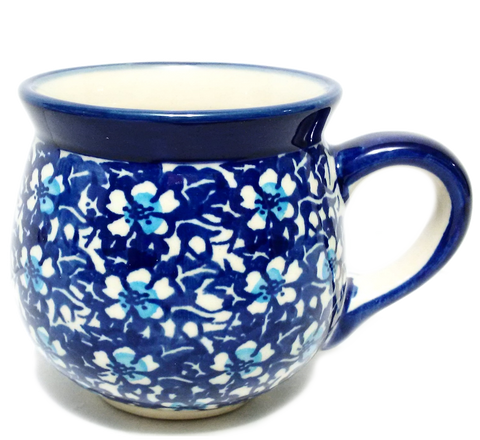 200ml Bubble Mug in Floral Fantasy pattern