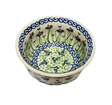 "4.5"" Snack Bowl in Dancing Garden pattern"