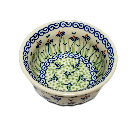 Snack Bowl in Dancing Garden pattern
