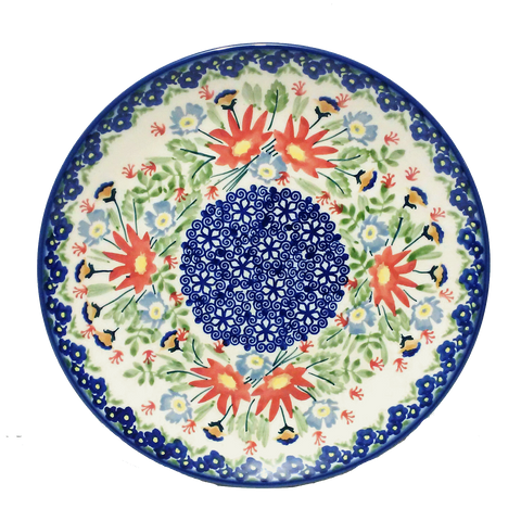 21.5 cm Luncheon Plate in Signed Wild Flower pattern