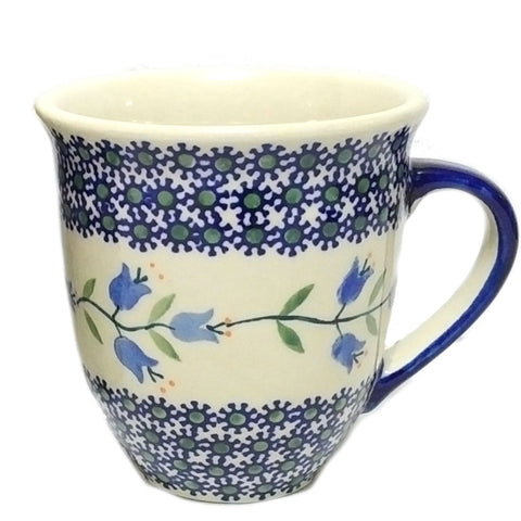 0.45 L Large bistro mug in the Trailing Lily pattern