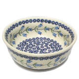 "18 cm / 7"" Soup/Serving Bowl in Trailing Lily pattern"