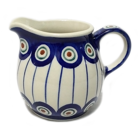 Creamer 0.2L in Peacock pattern