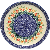 "Dinner Plate 11""/28cm in Traditional Spring Morning pattern"