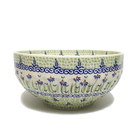 "8.25"" Salad Bowl in Dancing Garden pattern"