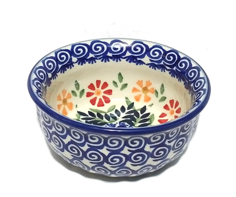 Snack Bowl in Spring Morning pattern
