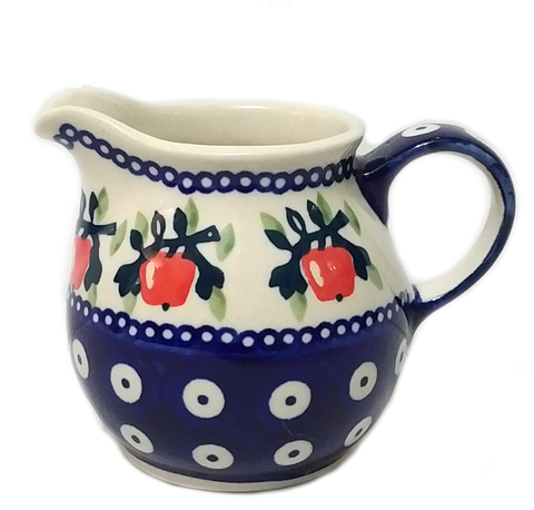Creamer 0.2L in Red Apple pattern