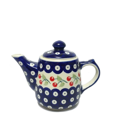 Mini Teapot in Cherry pattern