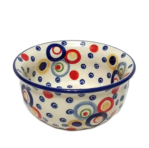 "4.5"" Snack Bowl in Unikat Happy Bubbles pattern"