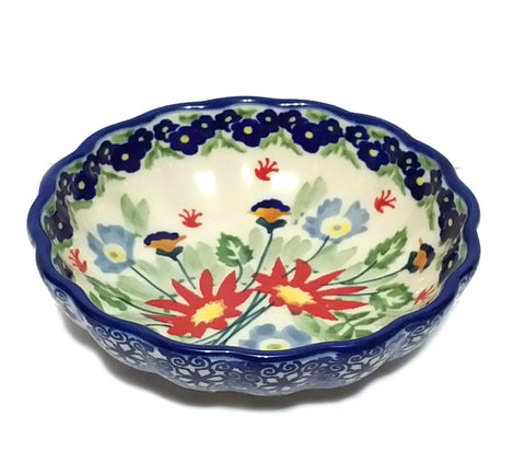 "4.75"" Candy Bowl in Signed Wild Flower pattern"