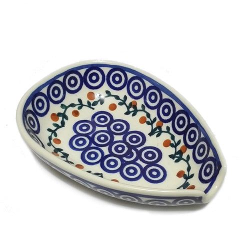 Spoon rest in Berry Trail pattern