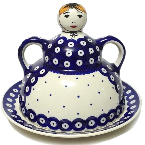 Pancake / Cheese Lady in Polka Dot pattern